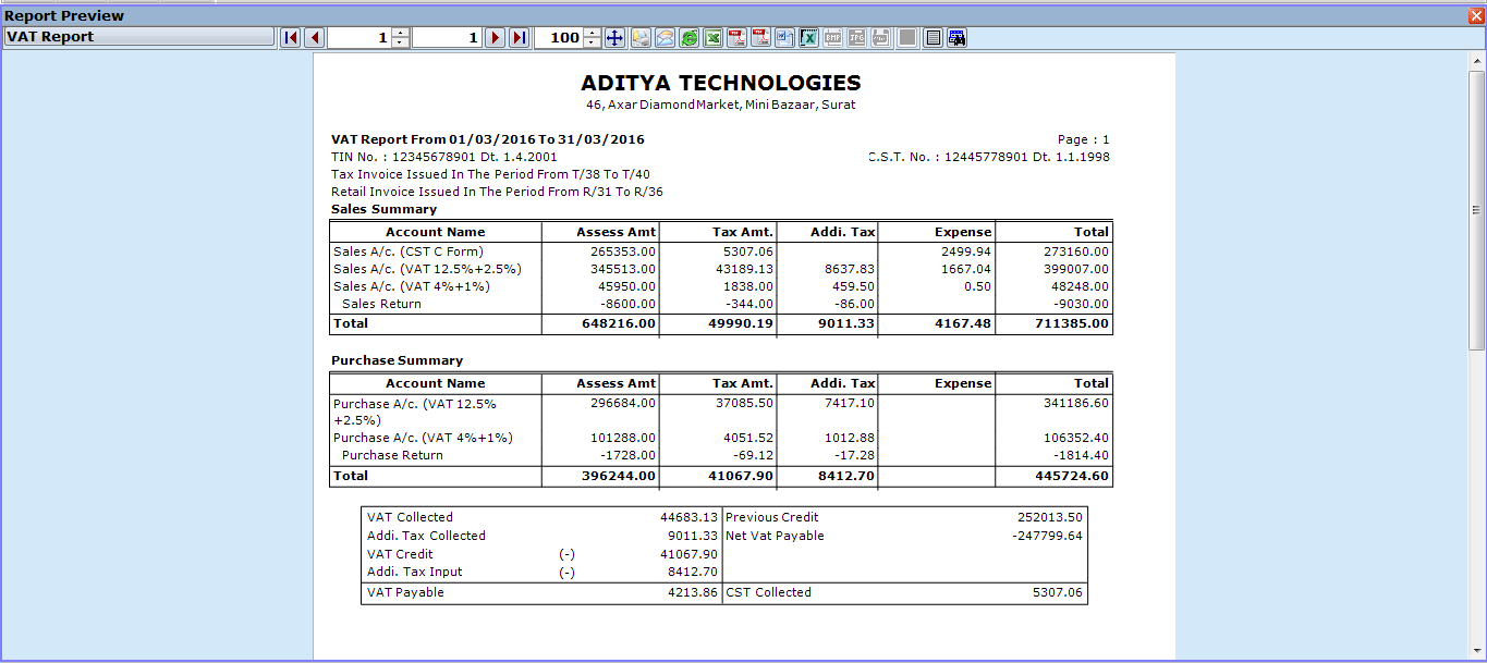 Miracle Accounting Software Surat Authorized Dealer